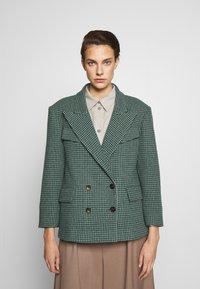 Vivienne Westwood Anglomania - GRAND HOTEL - Blazer - grey/green - 0