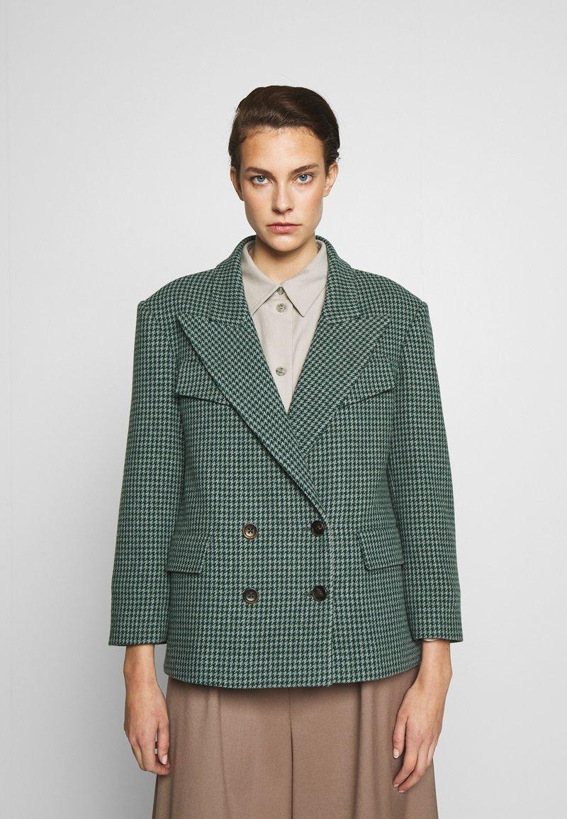 Vivienne Westwood Anglomania - GRAND HOTEL - Blazer - grey/green