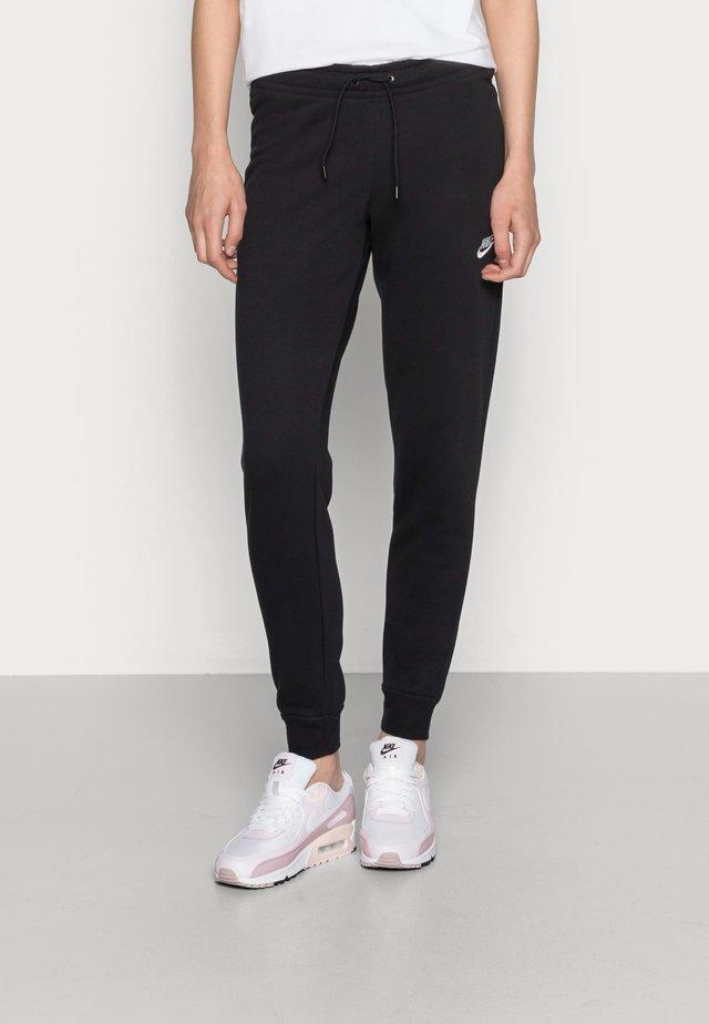 TIGHT - Spodnie treningowe - black/white