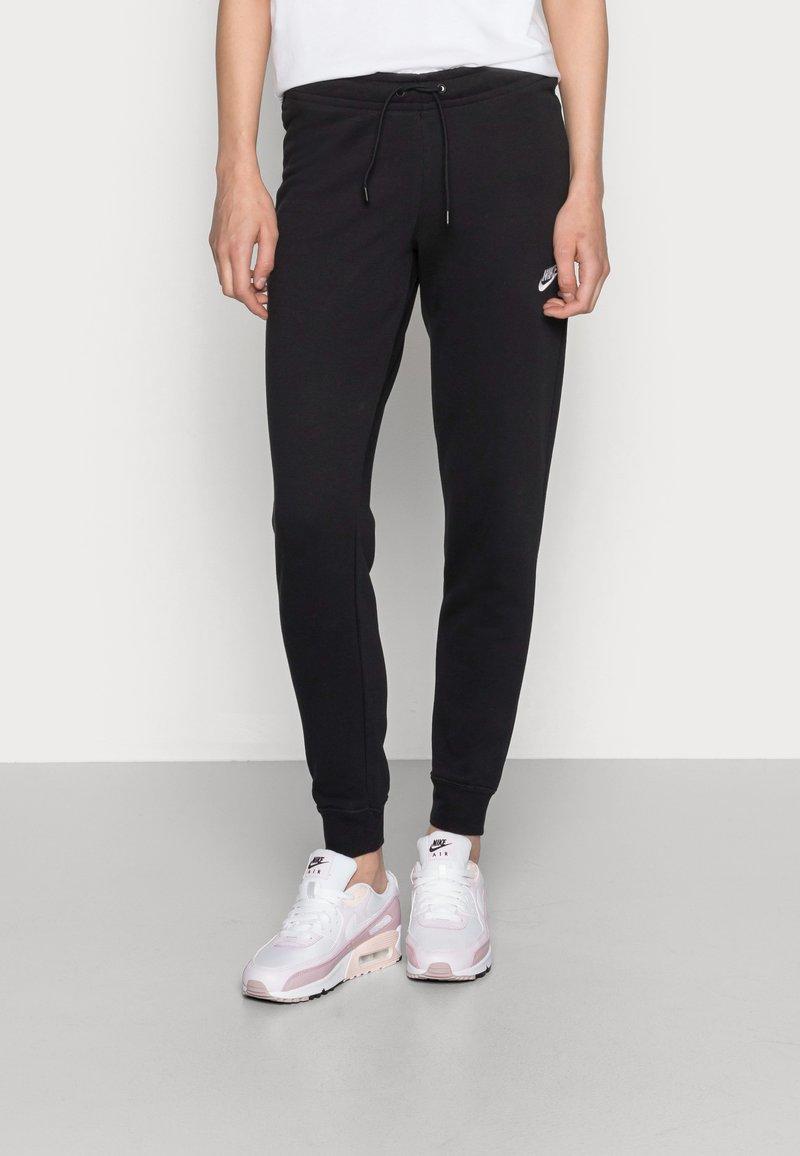Nike Sportswear - TIGHT - Pantalon de survêtement - black/white