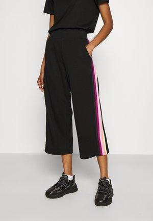 DOUBLE TAPE PANTS - Pantalon classique - black