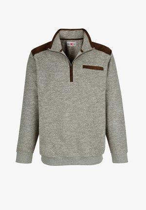 Fleece jumper - grau