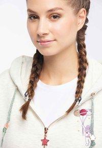 myMo - Zip-up hoodie - wool white - 3