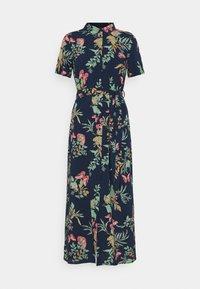 VMSIMPLY EASY LONG SHIRT - Shirt dress - navy blazer