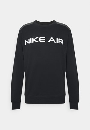 AIR CREW - Sweatshirts - black/dk smoke grey/white