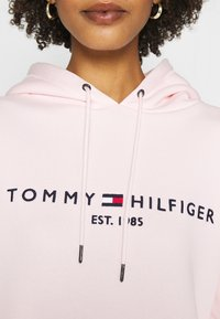 Tommy Hilfiger - HOODED DRESS - Day dress - pale pink - 4