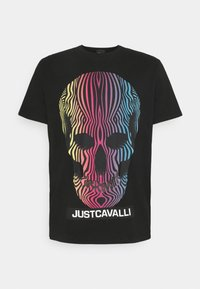 Just Cavalli - Print T-shirt - black - 7