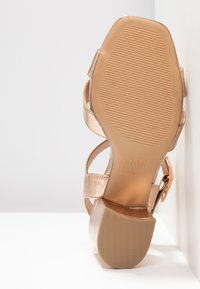 New Look Wide Fit - WIDE FIT TUCKER - Sandals - rose gold - 6