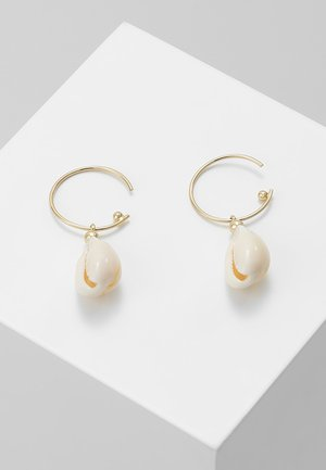 EARRINGS - Earrings - white