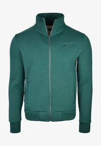 Superdry - Sweater met rits - forest green - 0