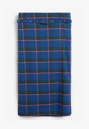 Pencil skirt - blue