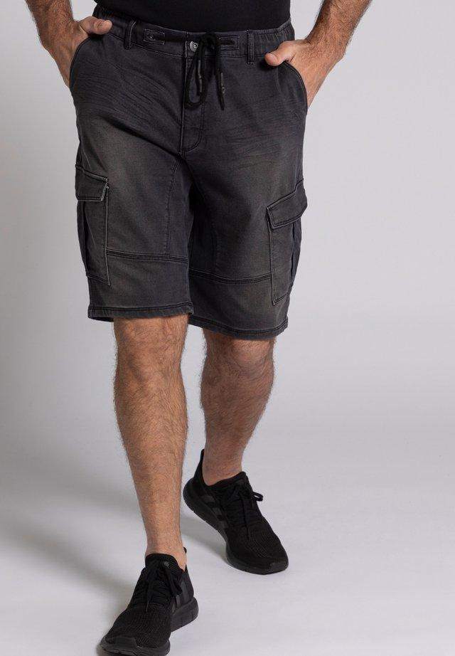 FLEXNAMIC® - Denim shorts - black