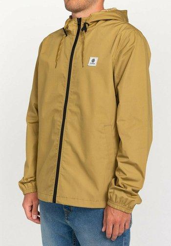 WOLFEBORO ALDER - Waterproof jacket - brown