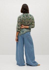 Violeta by Mango - AURELIA - Button-down blouse - grün - 2