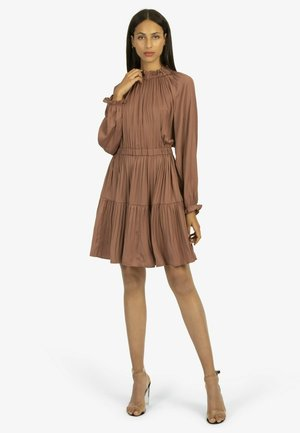 Jersey dress - mauve