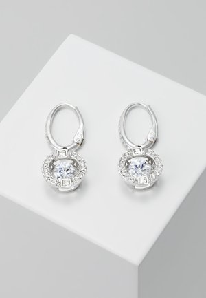 SPARKLING DROP - Earrings - white