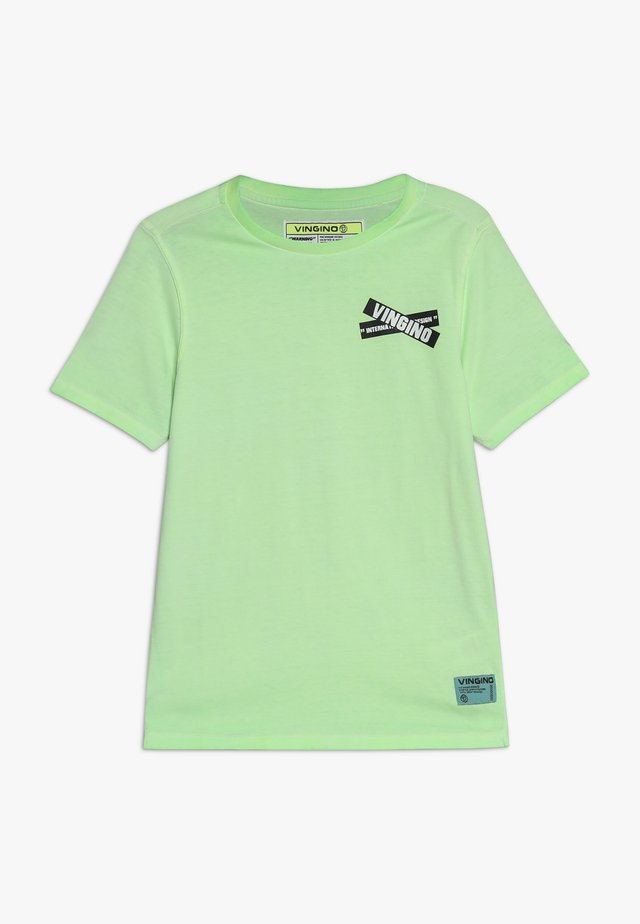 HIXX - T-shirt print - neon green