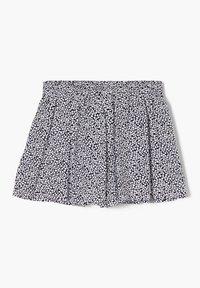 s.Oliver - LOOSE FIT - Shorts - dark blue millefleurs - 1