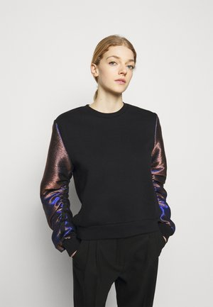 SLEEVES MIX  - Sweatshirt - black
