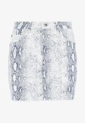 LADIES ANIMAL STRETCH SKIRT - A-line skirt - offwhite