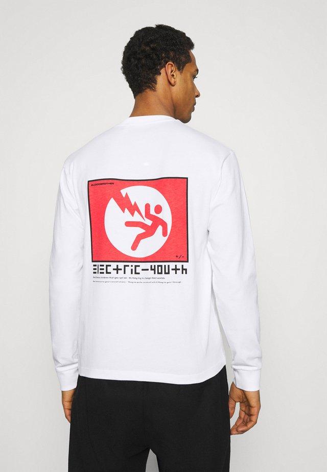 WINSTON TEE UNISEX - T-shirt imprimé - white