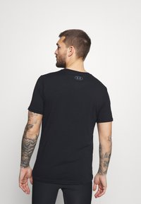 Under Armour - LOCKERTAG  - Print T-shirt - black - 2