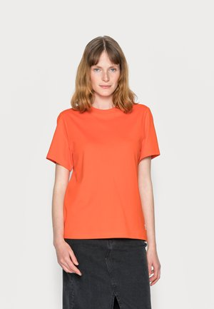 SHORT SLEEVE - Jednoduché triko - fire red