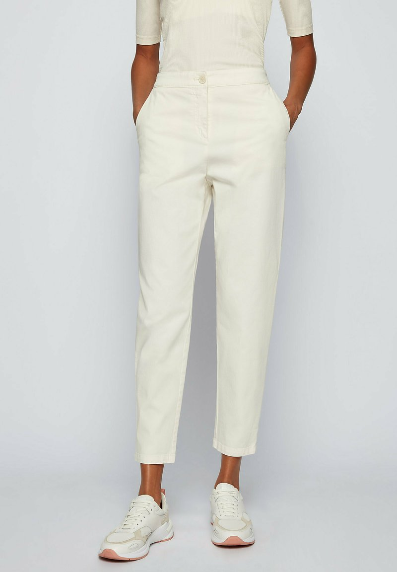 BOSS - Pantaloni - natural