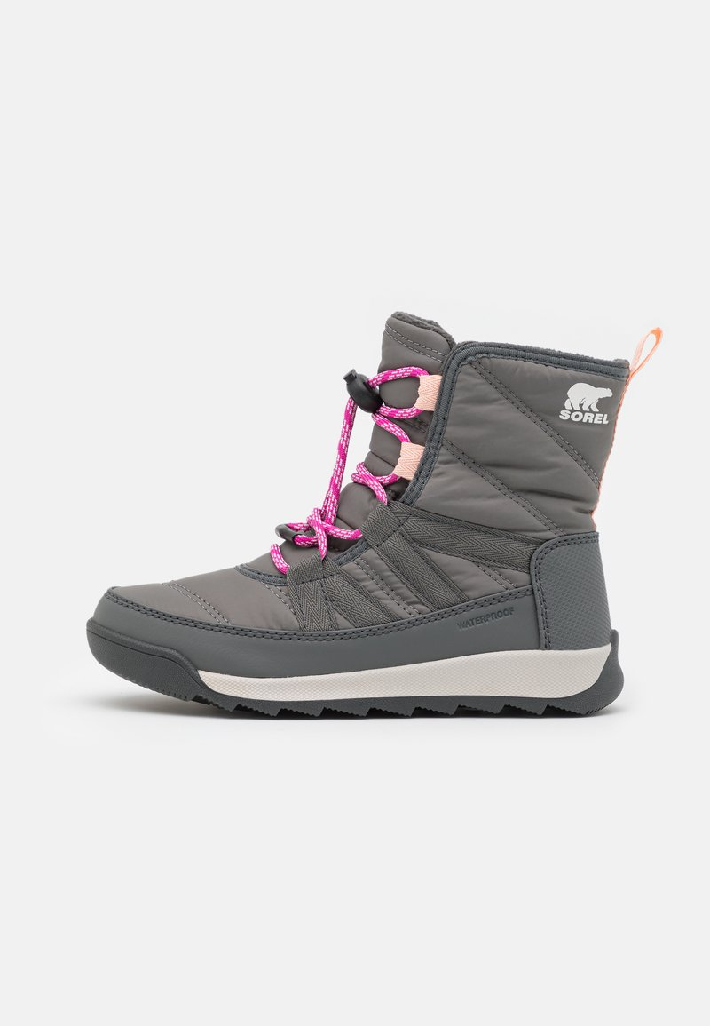 Sorel - YOUTH WHITNEY II SHORT LACE - Talvisaappaat - quarry/grill