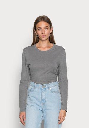 WOMAN LONG SLEEVE - Long sleeved top - dark grey