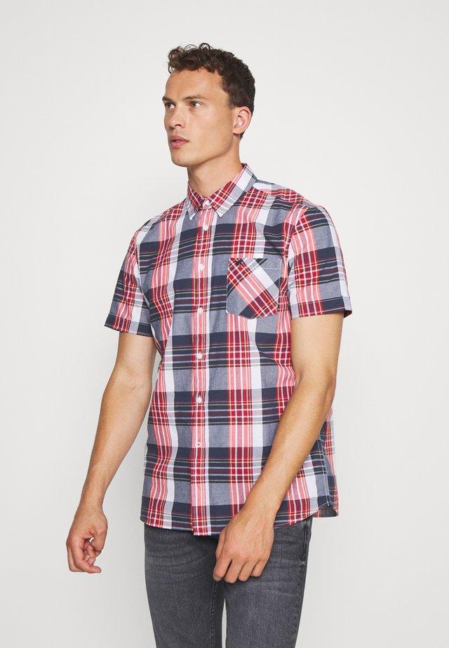 COLLIN BASIC CHECK - Camisa - navy