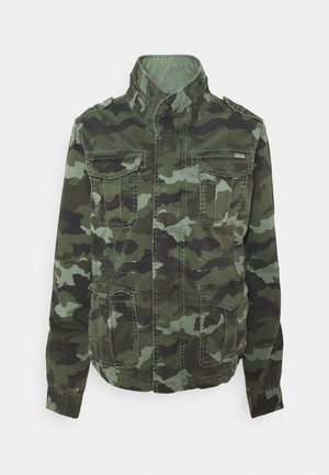 MARLOW CAMO - Summer jacket - palm green