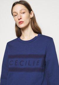 CECILIE copenhagen - MANILA - Sweatshirt - twilight blue - 3