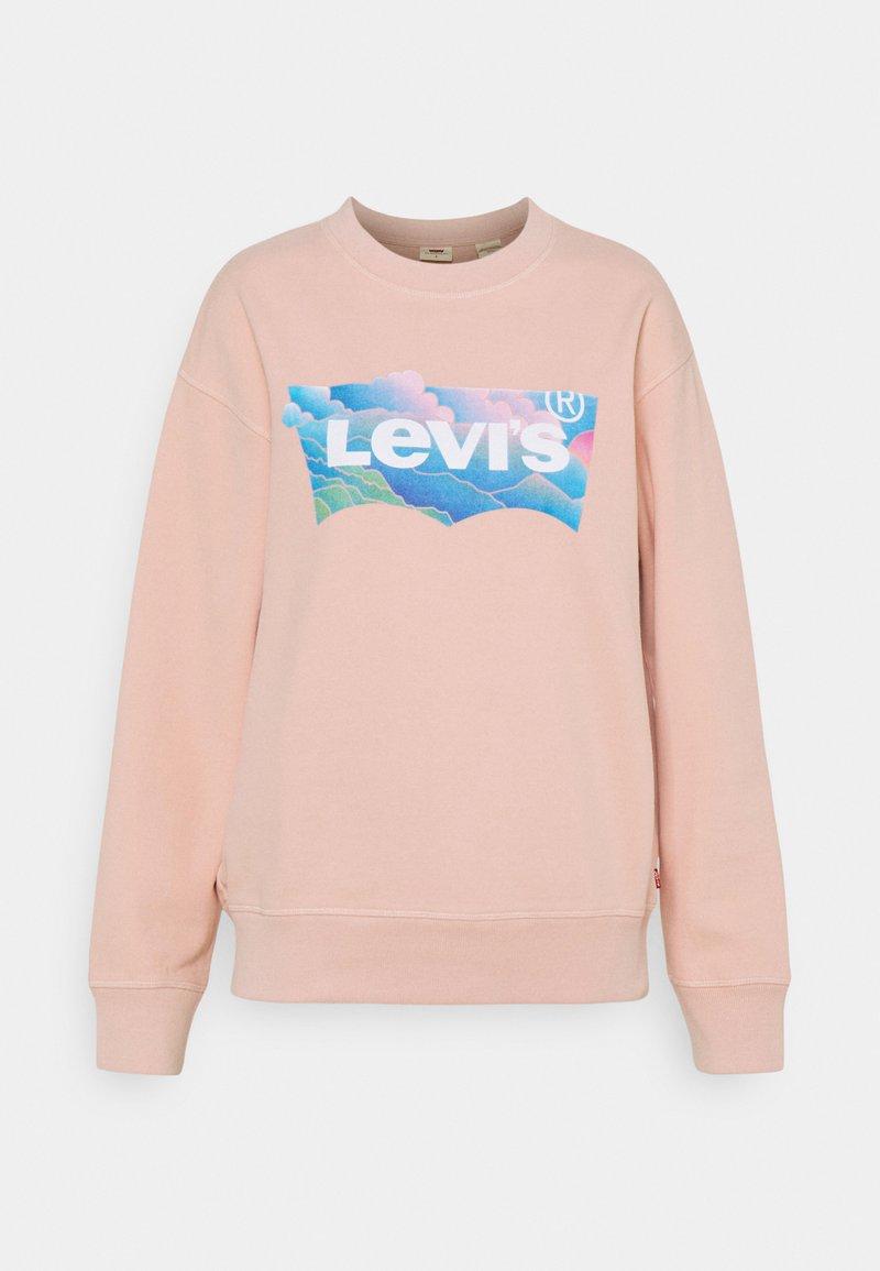 Levi's® - GRAPHIC STANDARD CREW - Sweatshirt - clouds evening sand