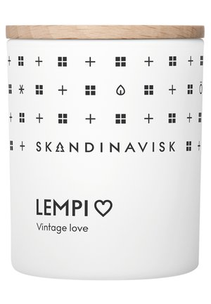 SCENTED CANDLE WITH LID - Duftkerze - lempi
