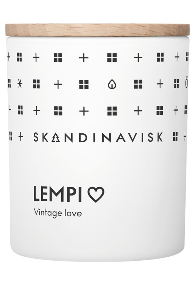 SCENTED CANDLE WITH LID - Doftljus - lempi