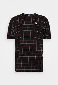 Fila - WING TEE - Camiseta estampada - black - 0