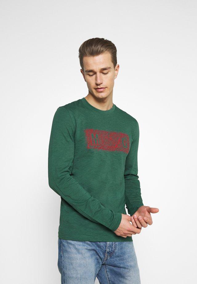 ANTON - Longsleeve - mallard green