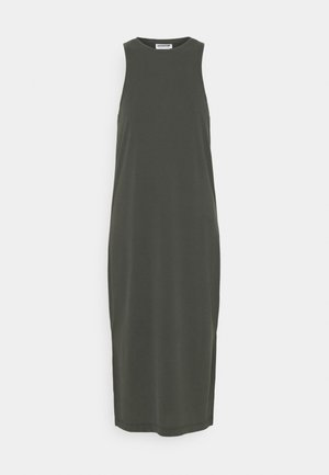 NMDENNA CALF DRESS - Jersey dress - black