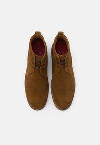 Grenson - WENDELL - Sznurowane obuwie sportowe - snuff - 3