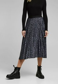 Esprit - A-line skirt - gunmetal - 0