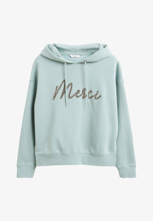 GRAPHIC  - Bluza z kapturem - mint