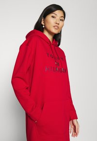 Tommy Hilfiger - TIARA HOODED DRESS - Day dress - primary red - 3