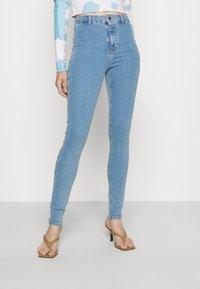 Topshop - JONI - Jeans Skinny Fit - bleach - 0