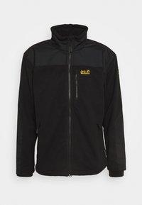 BLIZZARD - Fleecová bunda - black