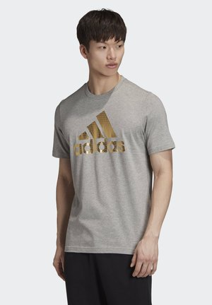 SPORTS REGULAR SHORT SLEEVE - Print T-shirt - medium grey heather