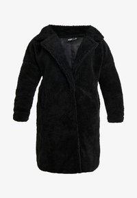 Missguided Plus - BORG - Wintermantel - black - 5