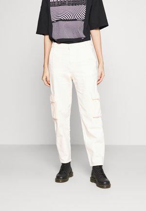 Cargo trousers - scallop shell