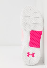 Under Armour - HOVR RISE - Neutral running shoes - white/black - 4