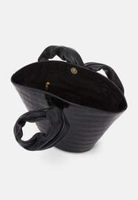 Little Liffner - SOFT LOOP MINI BUCKET - Kabelka - black - 3